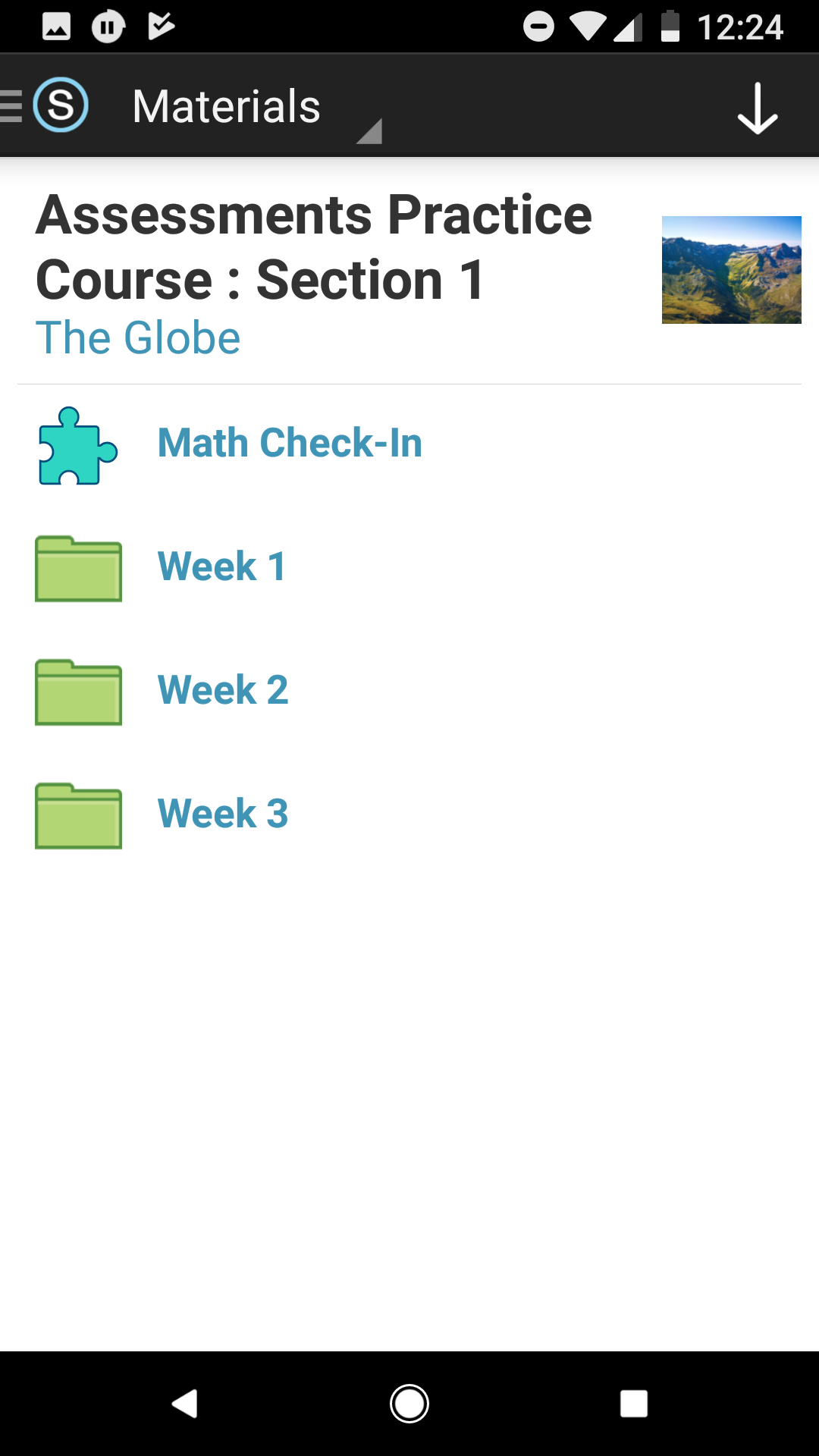 Assessments on the Android App (Students) – Schoology Support