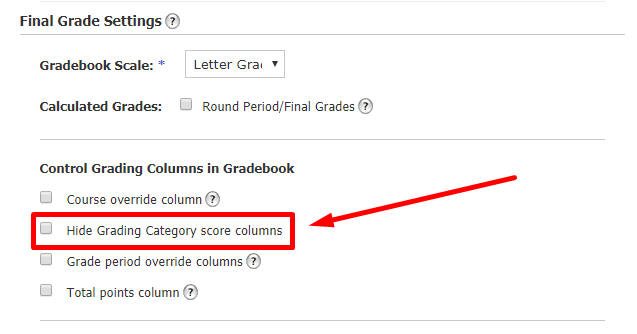 Courses: Gradebook – Schoology Support
