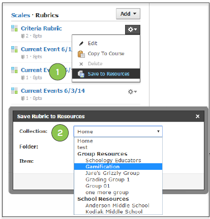 Schoology Release Notes Q1 2015: Web – Schoology Support