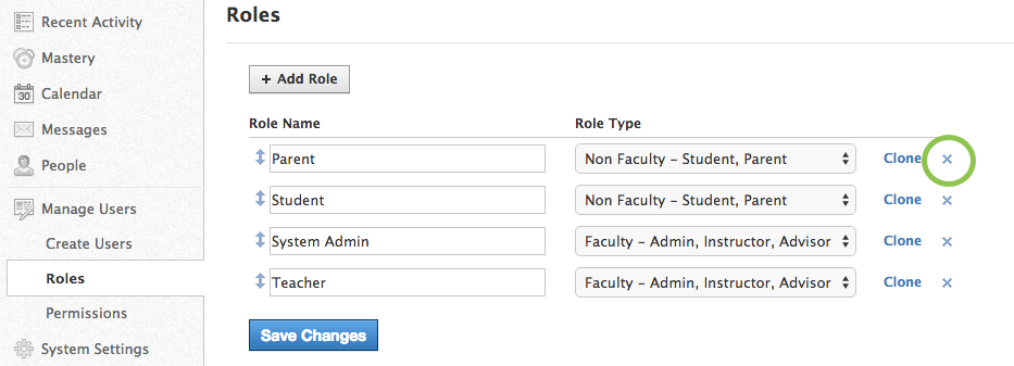 how to delete a schoology account
