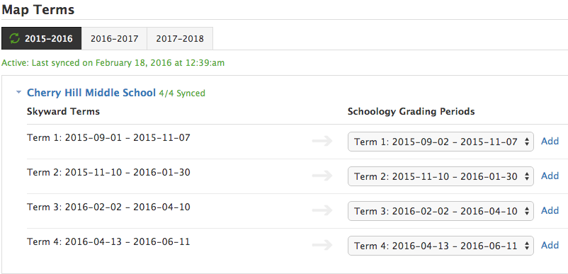 how to create a course in schoology